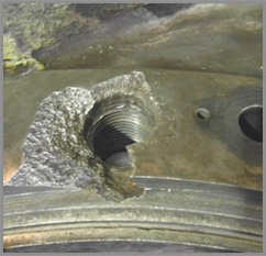 Precision Threaded Hole Repair Services