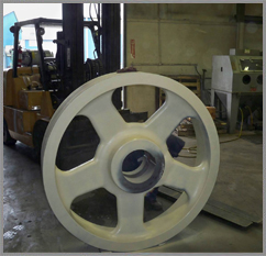 Repaired Flywheel
